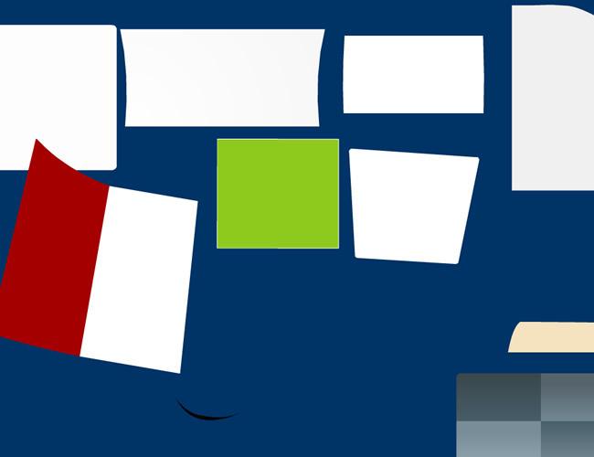 flash翻页效果纸张翻页纸张动画