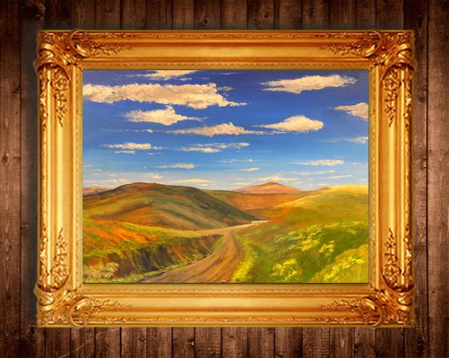 高清世界著名油画风景