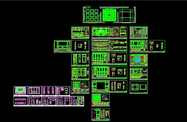 2013年家居行业高端展厅图纸设计