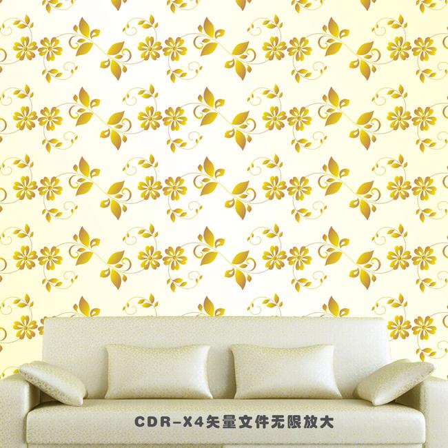 图片名称:欧式矢量花纹壁纸