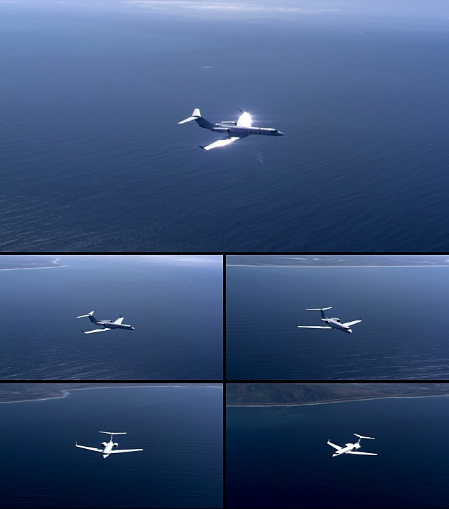 飞机海上飞翔视频素材-实拍视频素材-视频素材|ae