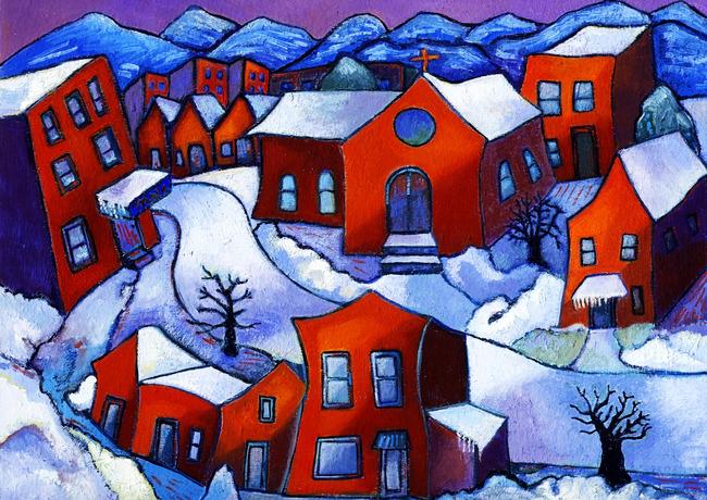 风景画 风景绘画 绘画图片 抽象画 油画房屋 乡村油画 油画美景 儿童