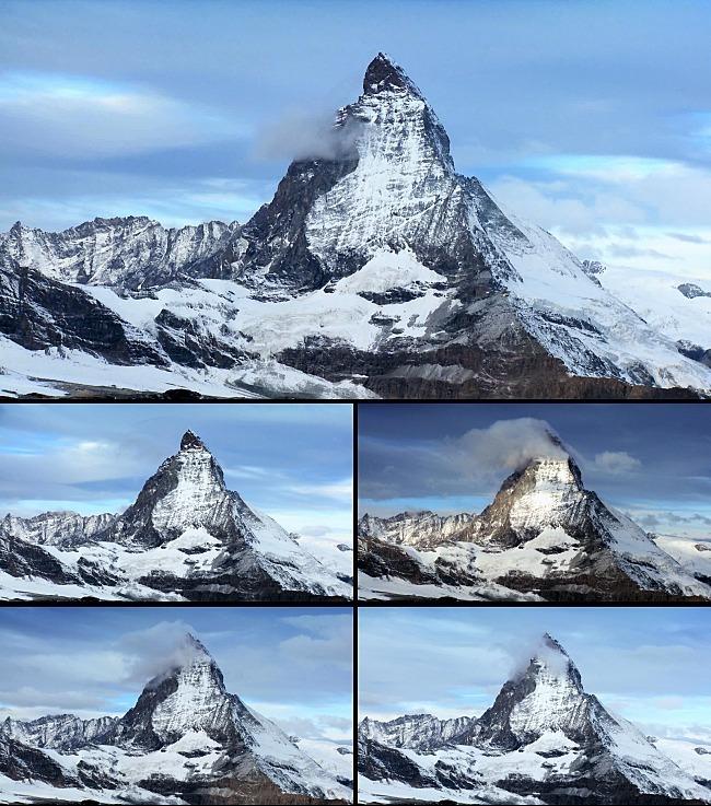 蓝天白云雪山高清视频-动态|特效|背景视频素材-动态