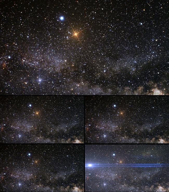 高清夜空繁星视频素材