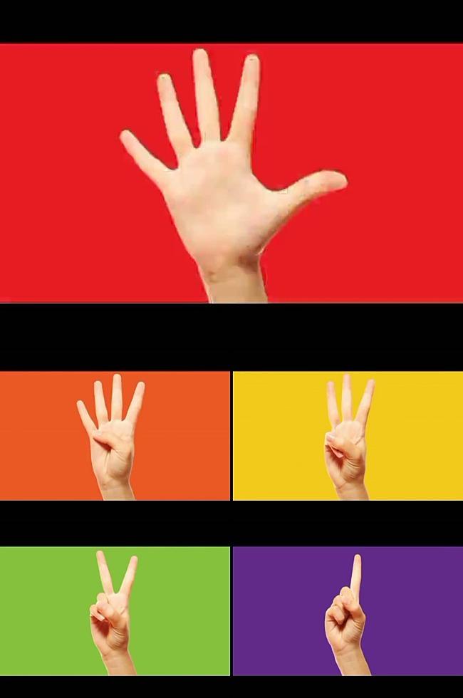 高清手势倒计时视频-倒计时视频模板-动态视频素材