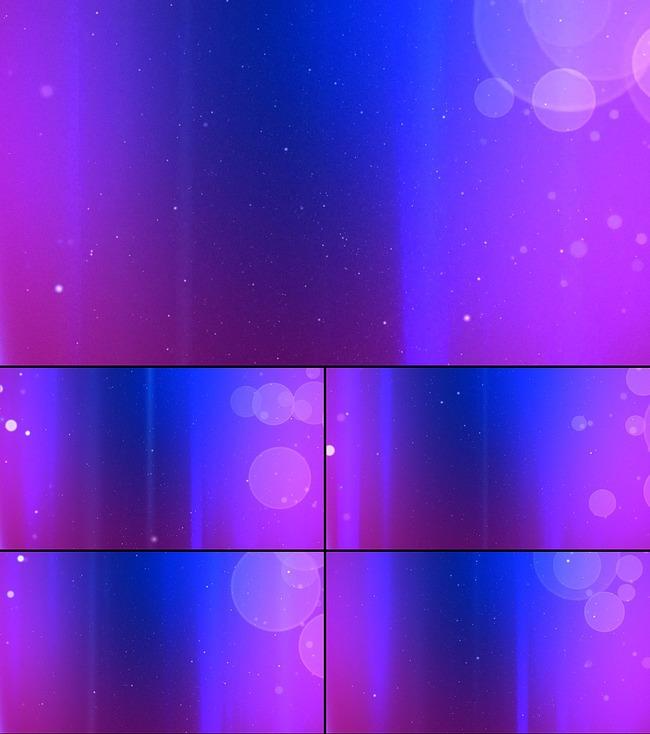 蓝紫色光斑粒子背景动态视频素材