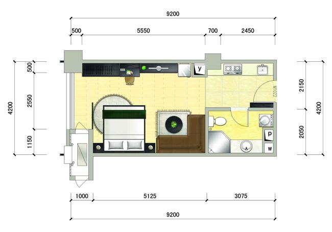 cad平面效果图   >户型cad平面效果图   cad图纸   室内装