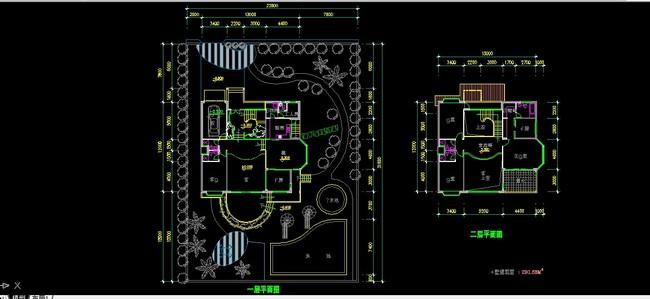 室内cad平面布置图纸-节点详图cad图纸-室内设计cad