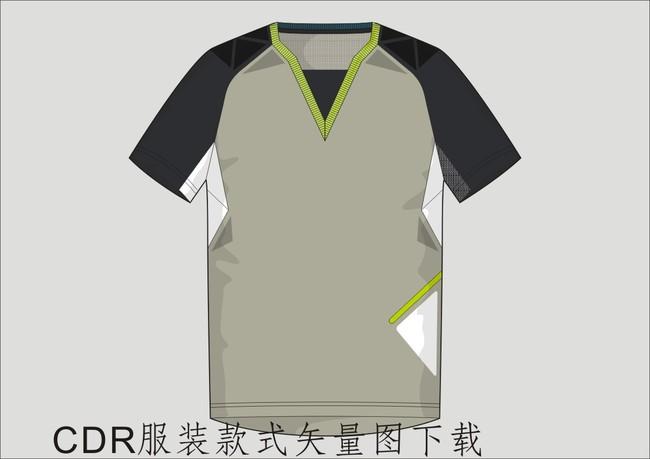 关键词: 服装设计稿 服装设计图 服装款式图 服装平面结构图 服装