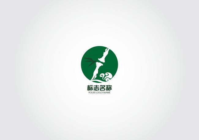 (原创设计)竹子祥云logo健康-其他行业logo-标志logo