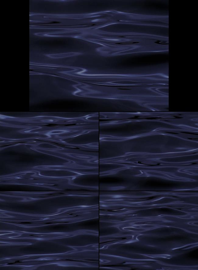 【mov】海浪波纹动态特效视频素材