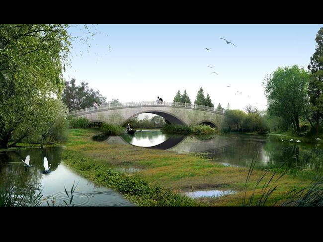 图片名称:园林景观设计效果图