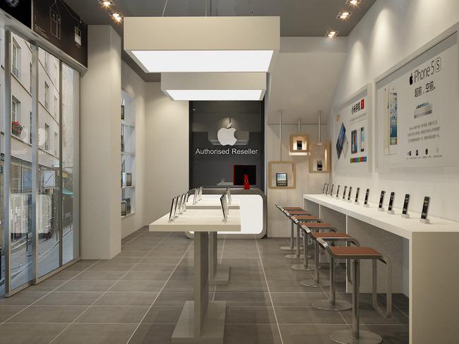 苹果手机专卖店-室内设计-其他