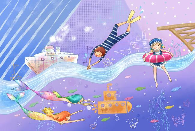 主页 原创专区 > 海底世界美人鱼  关键词: 卡通美人鱼 儿童装饰画