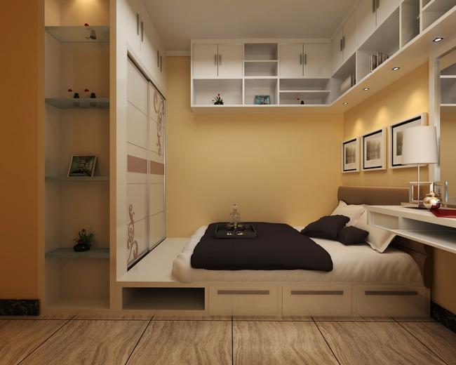 3d小孩房间模型效果图