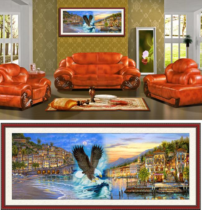 田园 大自然 油画风景 写实主义 风景油画 抽象油画 风景画 中国画