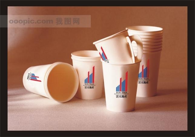 纸杯-vi模板 设计-海报设计