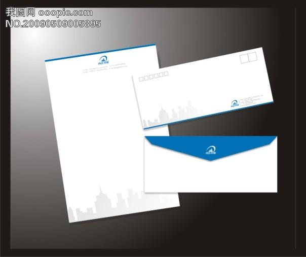 标志 vi 信封 photoshop 鼠 绘 精美 信封 免 运费
