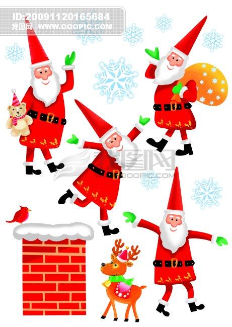 圣诞背景 圣诞素材 圣诞贺卡