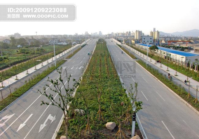 城市道路 城市道路图片素材 图片编号 787526 城市图
